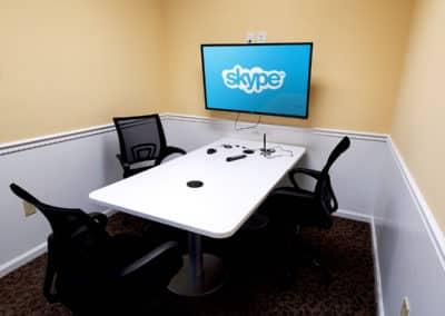 Zoom/Skype Room